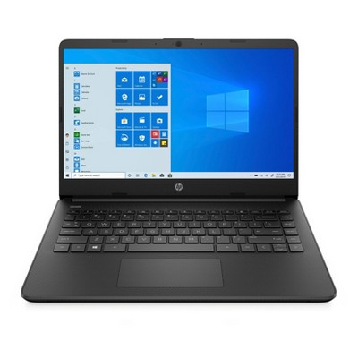 "HP 14"" Laptop with Windows 10 Home in S mode - Intel Core i3 10th Gen Processor - 4GB RAM Memory - 128GB SSD Storage - Jet Black (14-dq1025nr)"