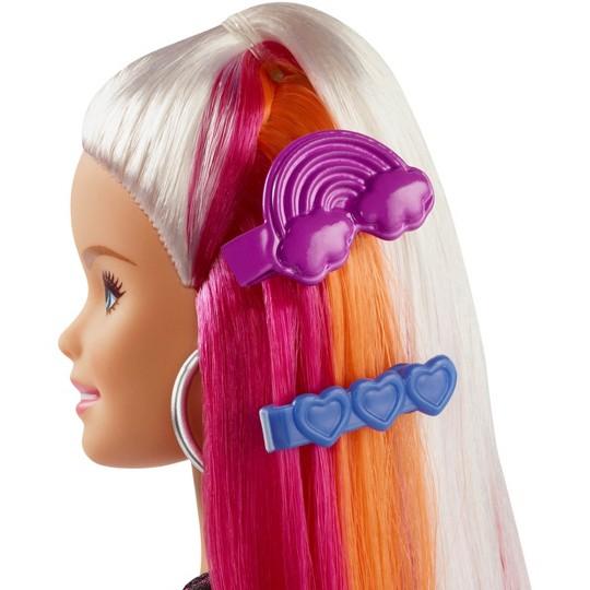 Barbie Rainbow Sparkle Hair Barbie Doll image number null