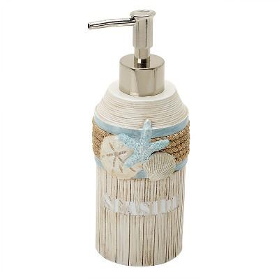 Seaside Serenity Resin Novelty Lotion Dispenser - India Ink®