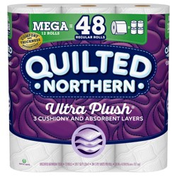 Quilted Northern Ultra Plush Toilet Paper - Mega Rolls