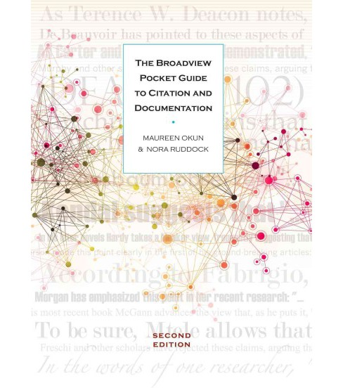 Broadview Pocket Guide to Citation and Documentation (Paperback) (Maureen Okun & Nora Ruddock) - image 1 of 1