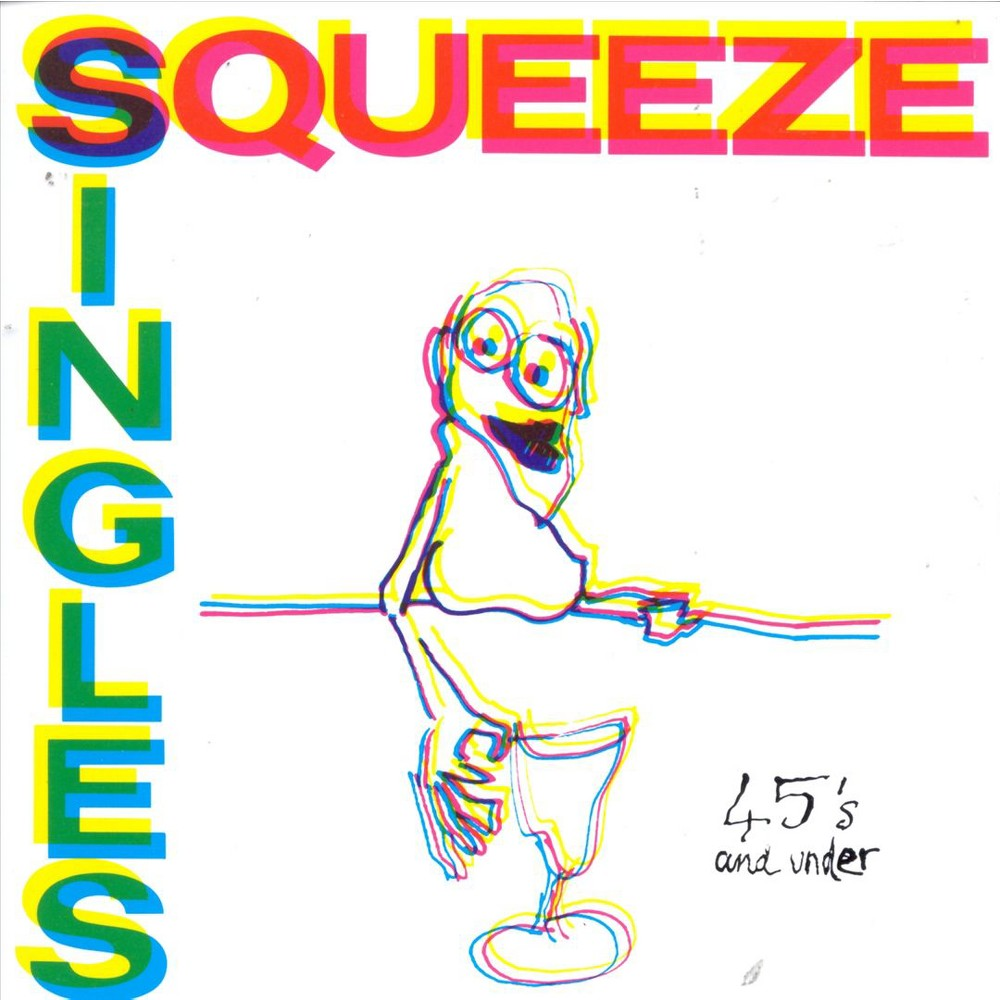 Squeeze - Singles 45's and Under (CD)
