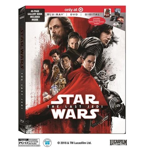 Star Wars The Last Jedi Target Exclusive Blu Ray Dvd Digital Target