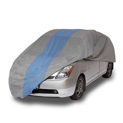 """Duck Covers 15""""x2"""" Defender Hatchback Automotive Exterior Cover Light Gray"""