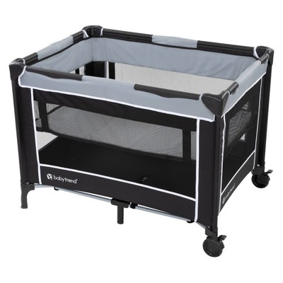 Baby Trend Portable Playard with Bassinet - Twinkle Gray