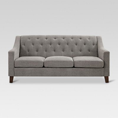 Felton Tufted Sofa - Pewter - Threshold™