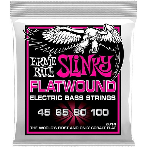 Ernie Ball P02814 Super Slinky Flatwound Bass Strings - image 1 of 2