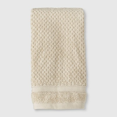 Performance Texture Hand Towel Tan - Threshold™
