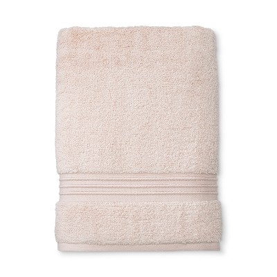 Spa Solid Bath Towel Spa Peach - Fieldcrest®