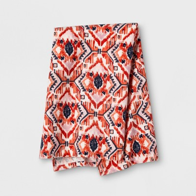 Orange Ikat Kitchen Towel - Opalhouse™