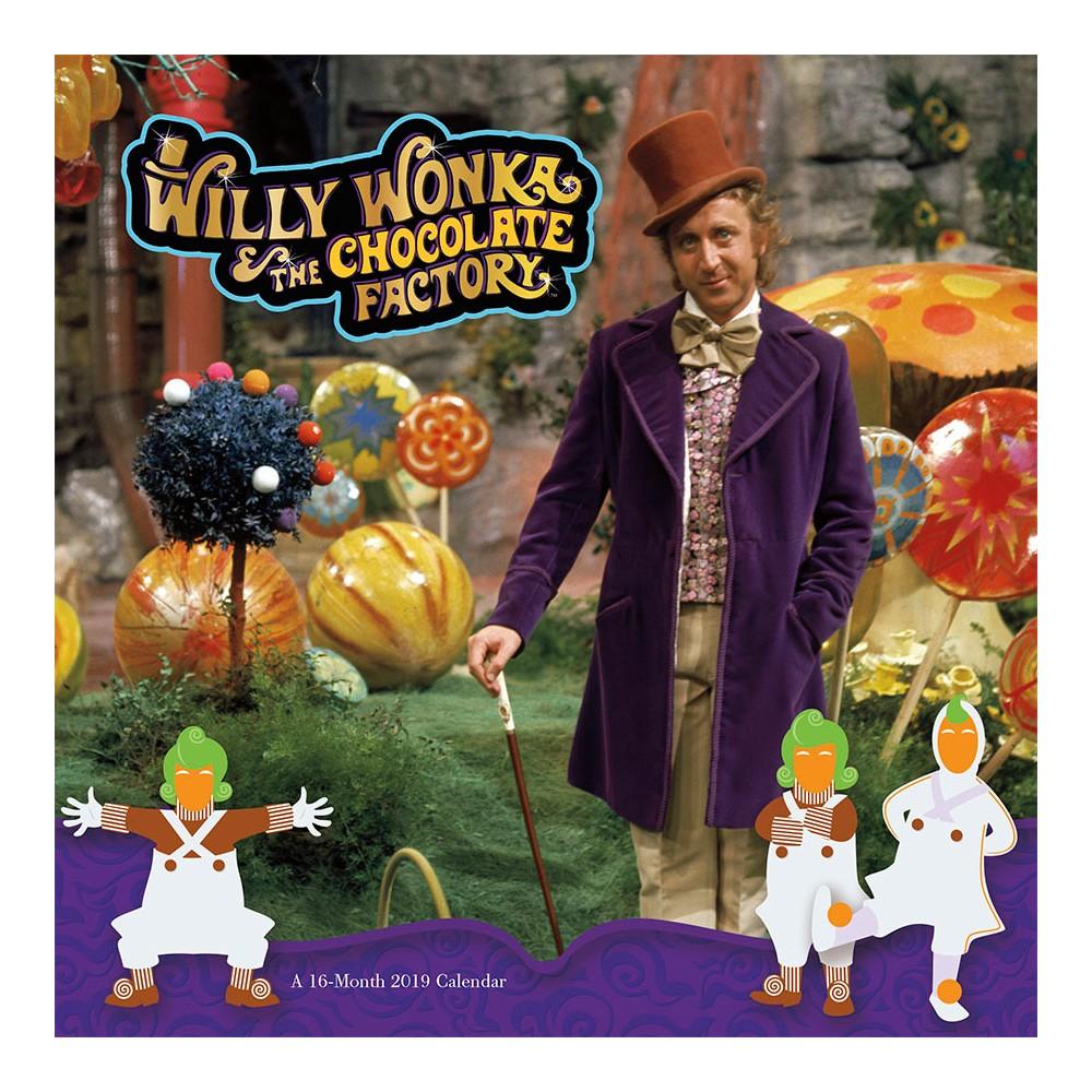 2019 Wall Calendar Willy Wonka - Trends International, Multi-Colored