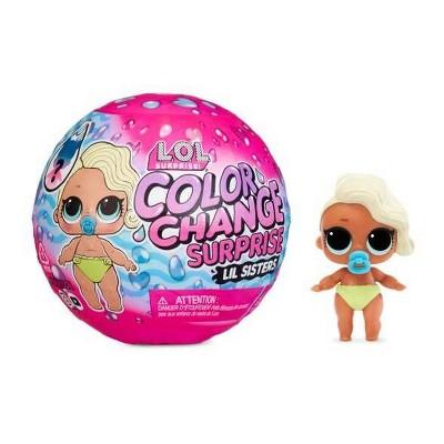 L.O.L. Surprise!ColorChange Lil Sisters with 5Surprises includingFashionOutfit