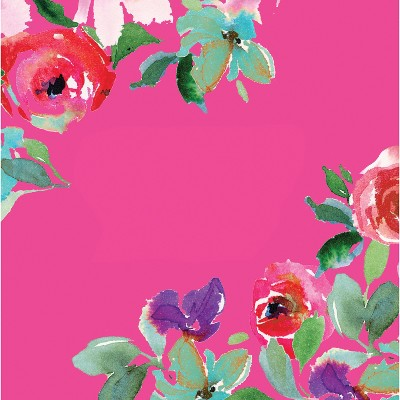 Evergreen Cypress Home Boho Floral Party Paper Luncheon Napkins, 20 count