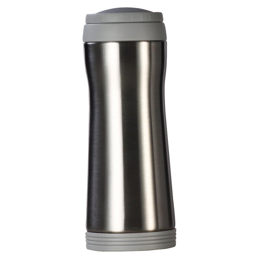 Image of AKTive Lifestyle Timolino Vacuum 12oz Mug with Infuser - Brushed Stainless