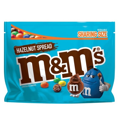 M&M'S Hazelnut Spread Sharing Size Chocolate Candy - 8.3oz - image 1 of 5