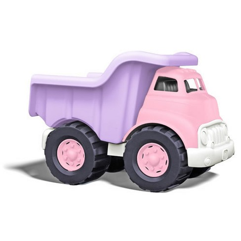 Green Toys Eco-Friendly Toddler Sized Pink Dump Truck - image 1 of 4