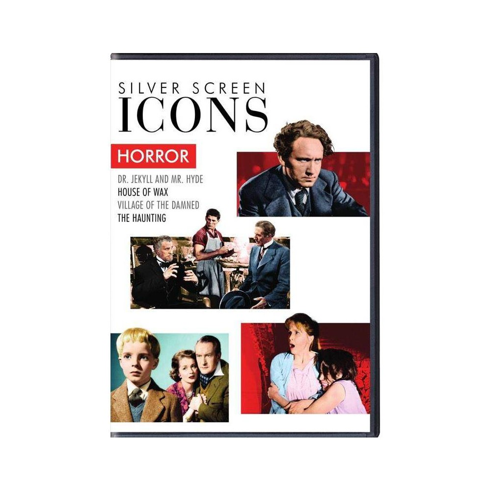 Silver Screen Icons Horror Dvd
