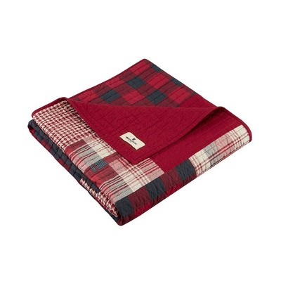 """50""""x70"""" Sunset Quilted Throw Blanket Red - Woolrich"""
