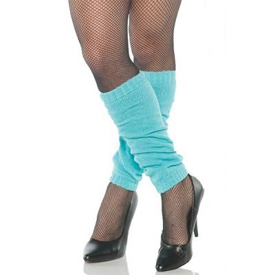 Underwraps Costumes Leg Warmers Neon Blue