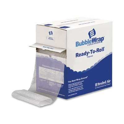"""Sealed Air Bubble Cushioning Material 12""""x100' Roll 3/16"""" Bubble CL 10600"""