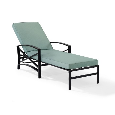 Kaplan Chaise Lounge Chair - Bronze - Crosley - image 1 of 4