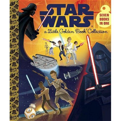 Star Wars Little Golden Book Collection - by Golden Books Publishing Company (Hardcover)
