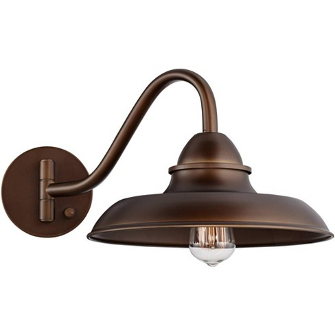 Franklin Iron Works Rustic Farmhouse, Wall Swing Arm Lamps Bedroom