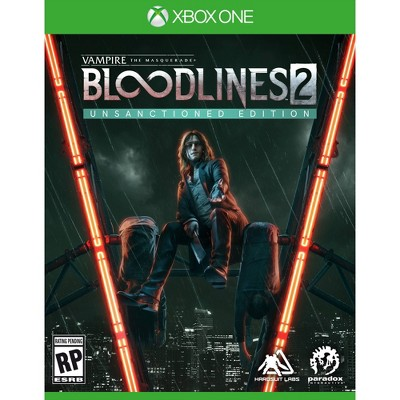 Vampire: The Masquerade Bloodlines 2 Unsanctioned Edition - Xbox One