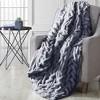 "Modern Threads Luxury Solid Braided Faux Fur Throw, 50"" x 60"". - image 2 of 2"