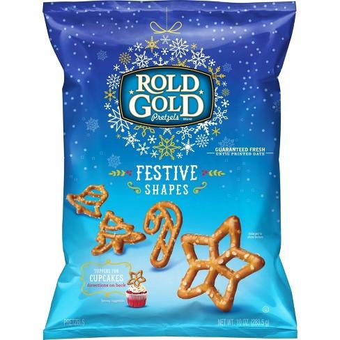 Rold Gold Festive Shapes Pretzels - 10oz - image 1 of 3