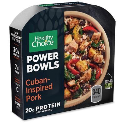 Healthy Choice Power Bowl Frozen Cuban Roast Pork - 9oz