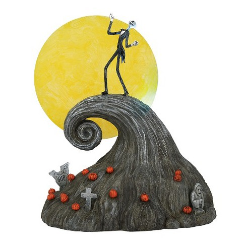 Department 56 - Nightmare Before Christmas Village - Jack on Spiral Hill, 9.17-inches - image 1 of 3