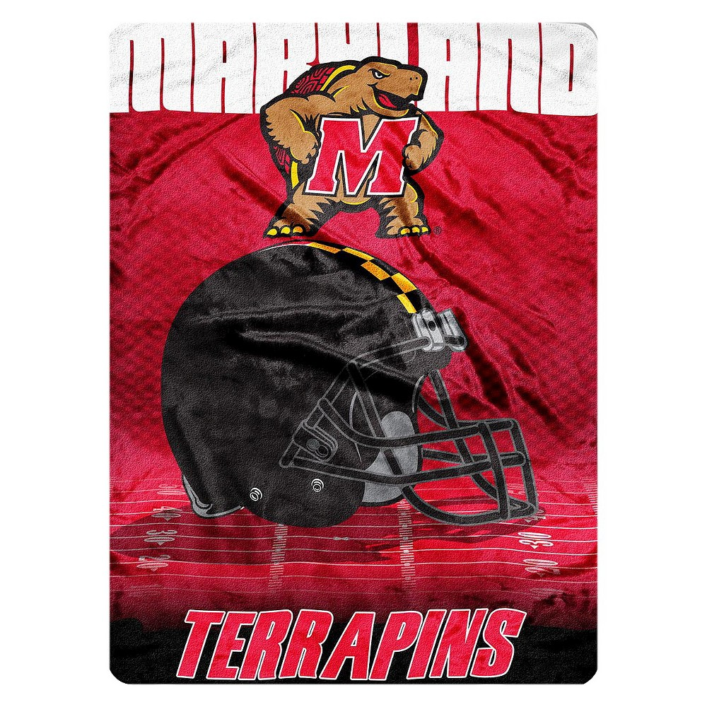 "Image of ""NCAA Micro Raschel Maryland Terrapins Throw - Multi-Colored (60""""x80"""")"""