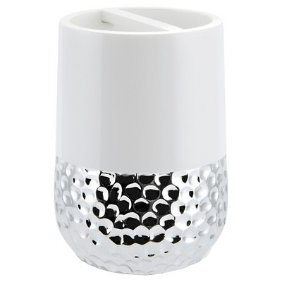 Titus Toothbrush Holder Silver - Allure
