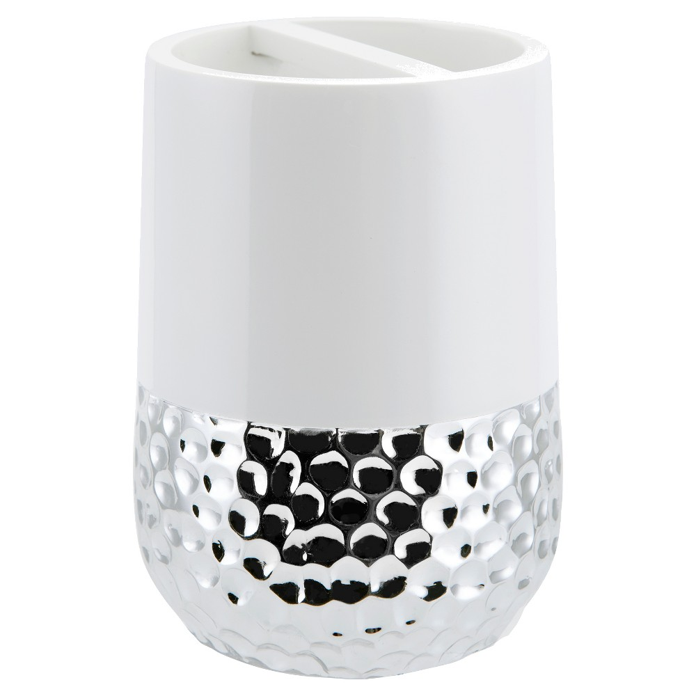 Titus Toothbrush Holder Silver Allure