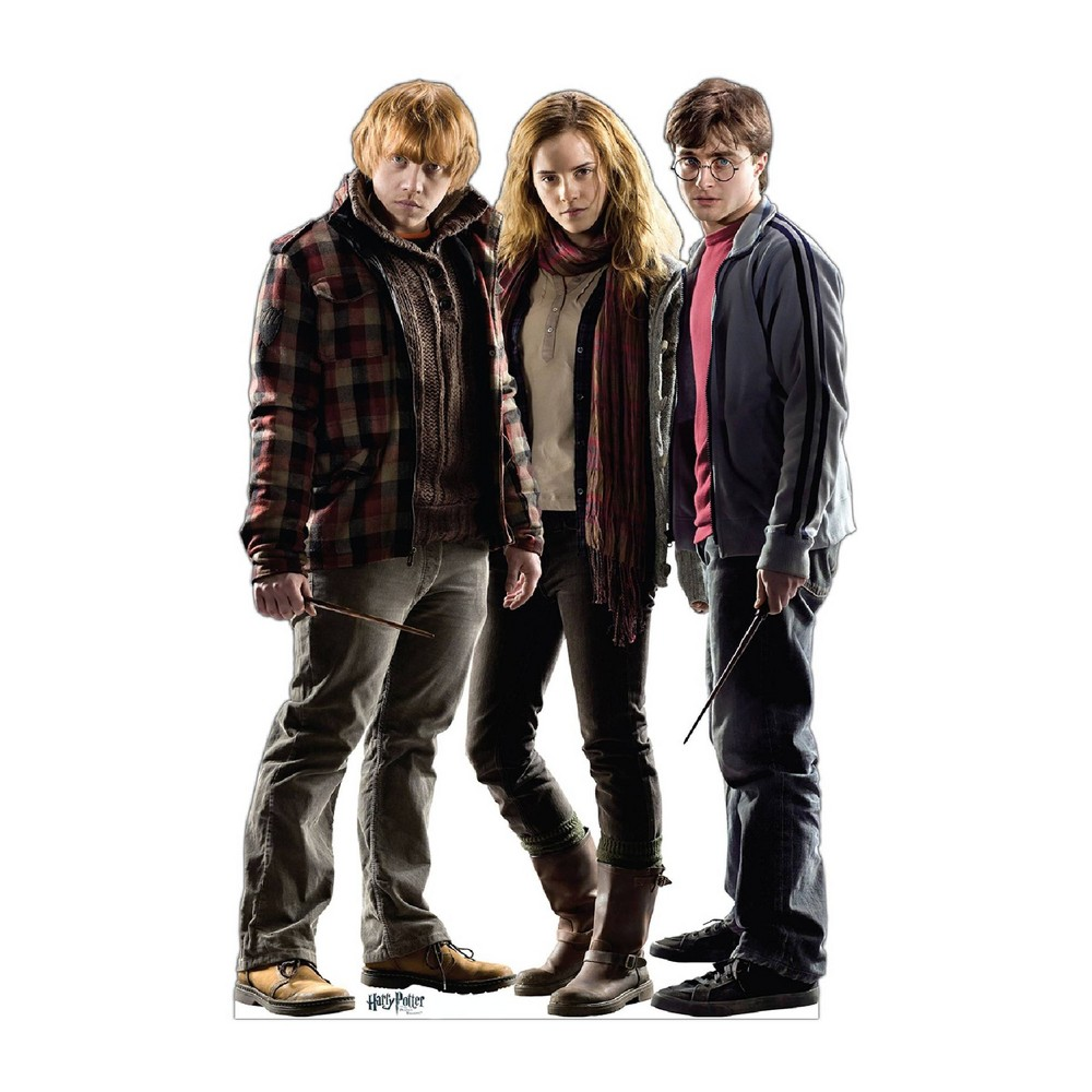 Harry Potter 5.5 Group Cardboard Standup, Multi-Colored