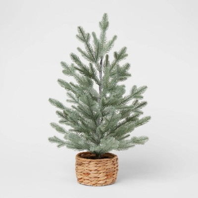 2ft Artificial Tabletop Christmas Glitter Tree - Threshold™