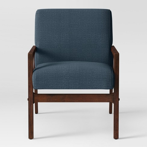 Peoria Wood Arm Chair Blue Project 62 Target