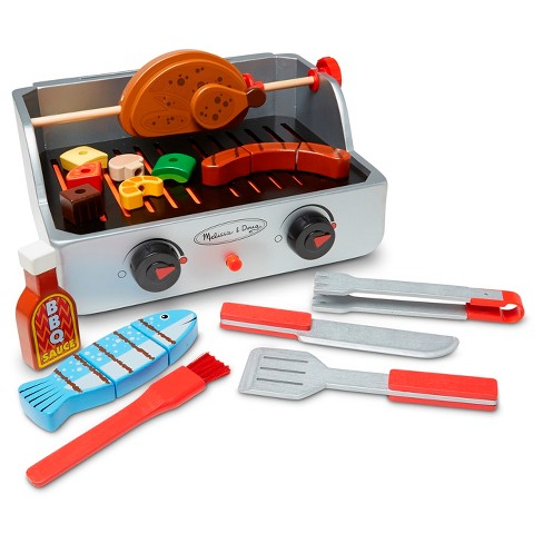 Melissa & Doug® Rotisserie & Grill Barbecue Set - image 1 of 6