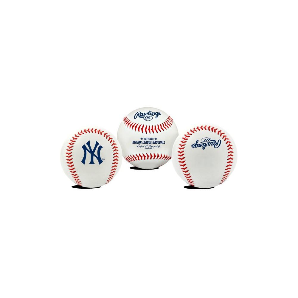 New York Yankees Rawlings Team Logo Baseball