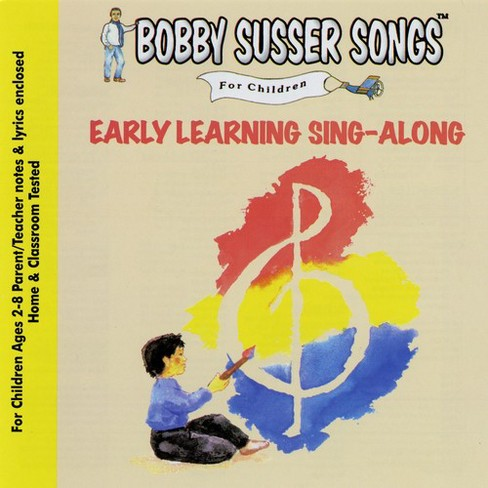 Bobby singer susser - Early learning sing along (CD) - image 1 of 1