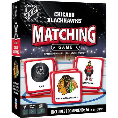NHL Chicago Blackhawks Matching Game - image 1 of 2