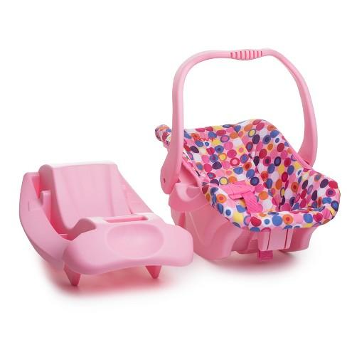 Joovy Baby Doll Car Seat Pink Dot Target