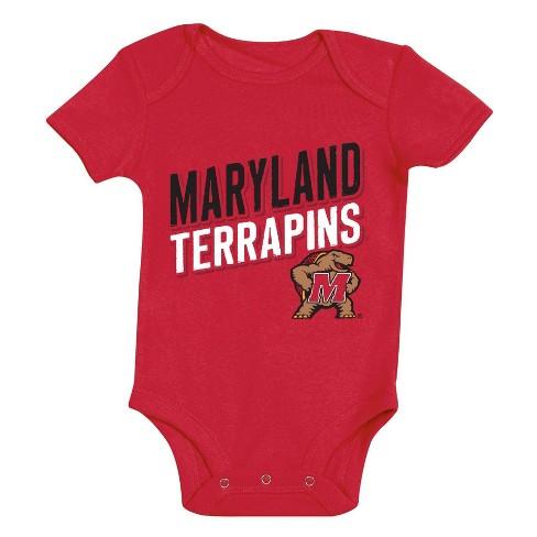 NCAA Maryland Terrapins Baby Boys' 3pk Bodysuit Set - image 1 of 4