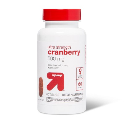 Cranberry Dietary Supplement Tablets - 60ct - up & up™