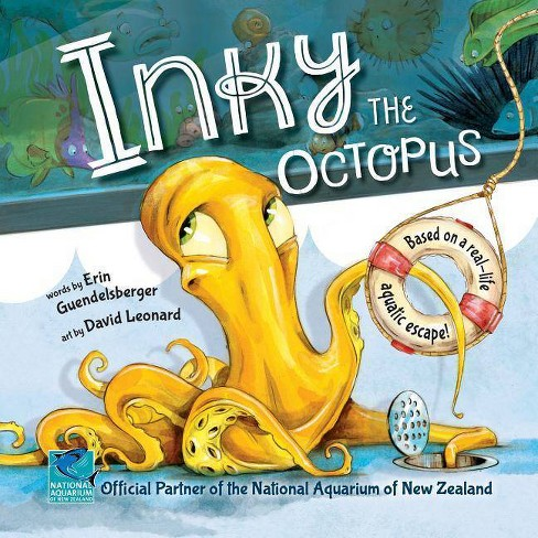 Inky the Octopus - by  Erin Guendelsberger (Hardcover) - image 1 of 1