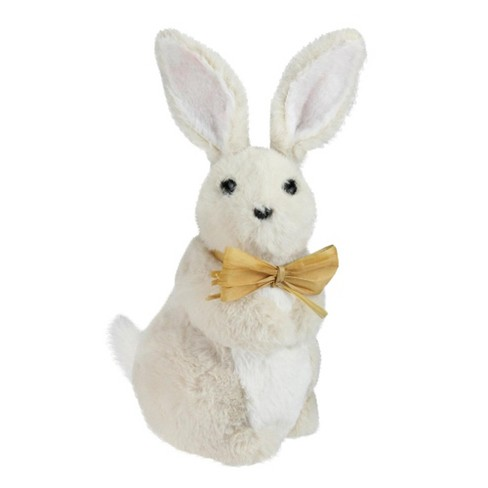 "7efee651519b5 Northlight 11.5"" Plush Standing Easter Bunny Rabbit Boy Spring Figure -  Beige Yellow   Target"