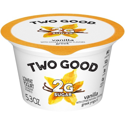 Two Good Vanilla Greek Style Yogurt - 5.3oz - image 1 of 4