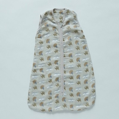 Patina Vie Sleepsack 100% Cotton Wearable Blanket - Woodland Friends