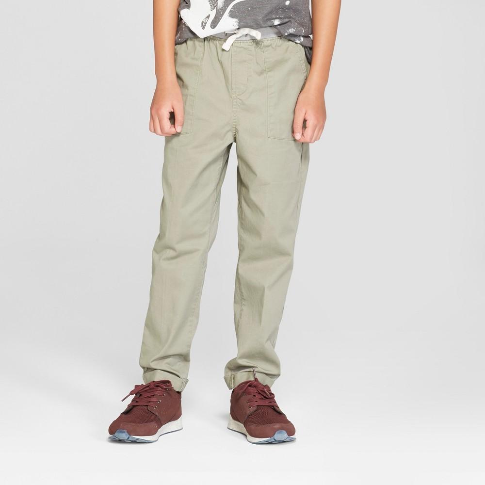 Boys' Chino Pants - Cat & Jack Green 5